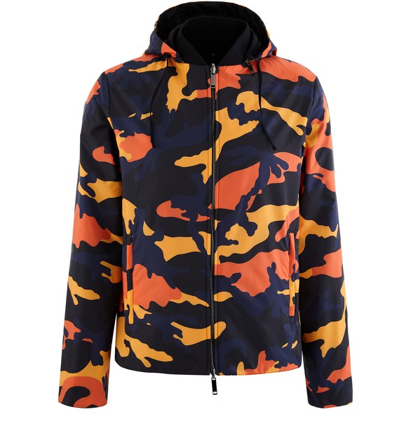 VALENTINOCamospace reversible jacket