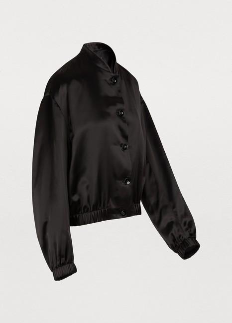 Jil SanderLogo bomber jacket