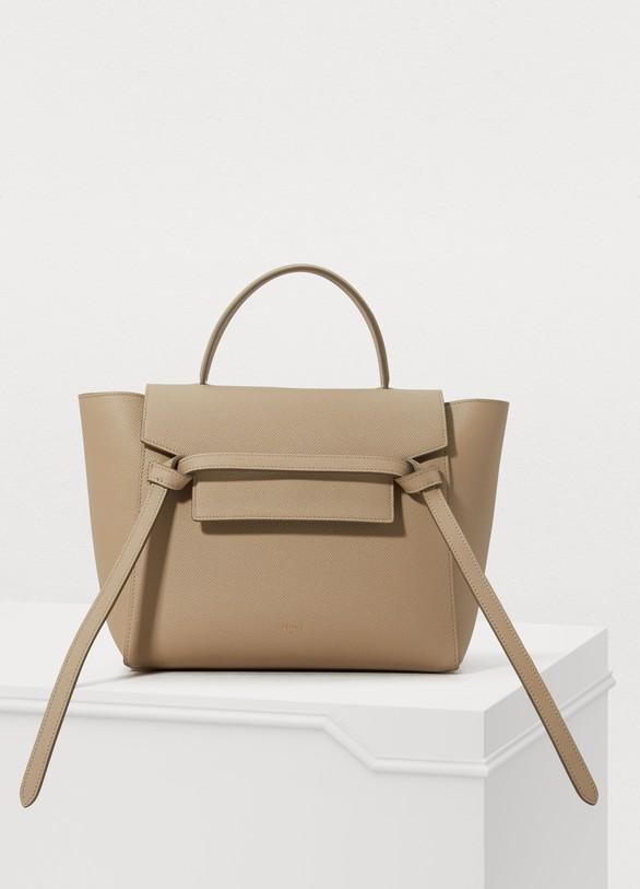 1d439b2d48 Women s Micro Belt bag in grained calfskin