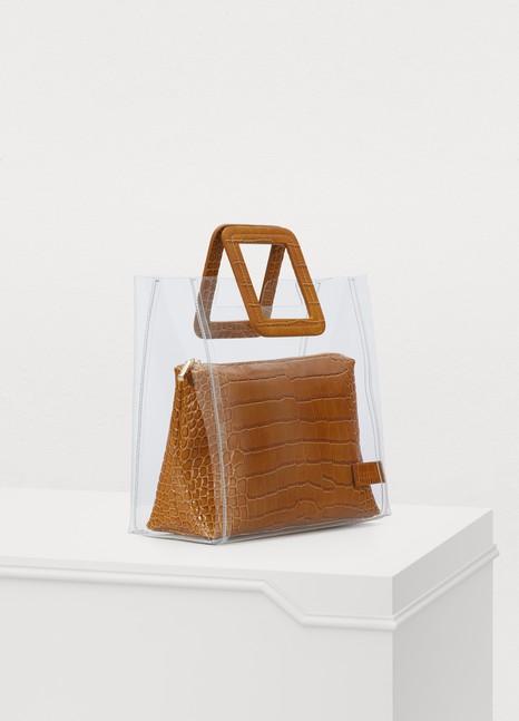 STAUDShirley handbag clear