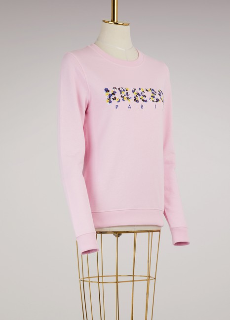 KenzoFloral cotton sweatshirt