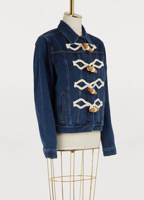 JW Anderson Duffle detail denim jacket