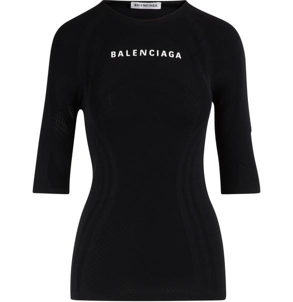 BALENCIAGA3/4-sleeved top