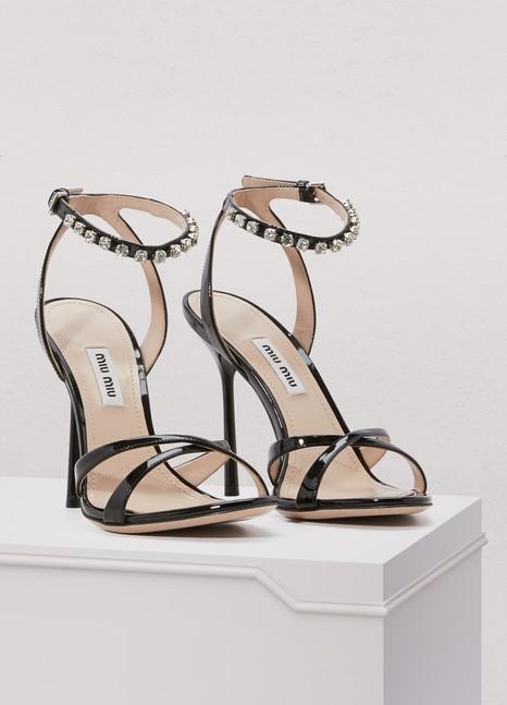 Miu MiuCrystals sandals