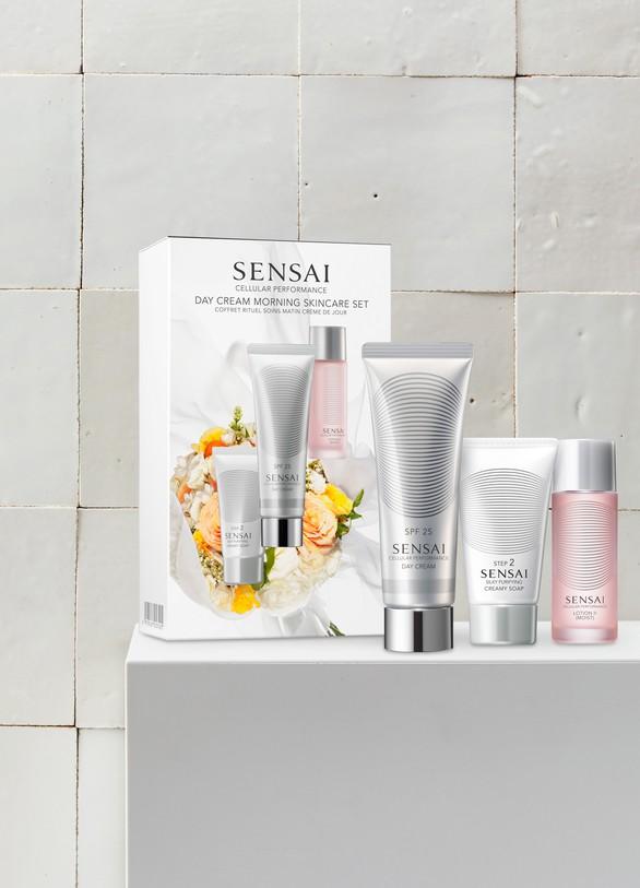 SensaiCoffret Cellular Performance Rituel soins crème de jour