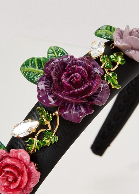 Dolce & GabbanaRoses headband