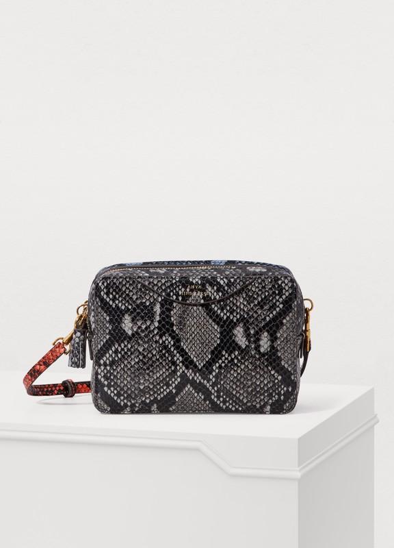 7361b1ff8553 Anya Hindmarch. Double zip python print bag