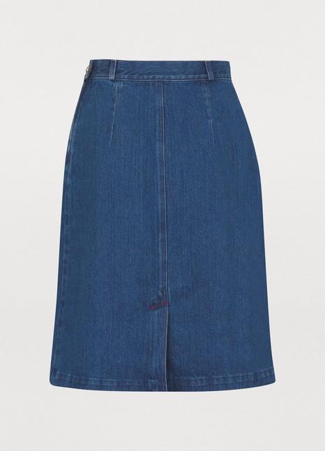 GUCCIDenim mini skirt