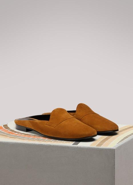 Pierre HardyJacno Leather Flat Mules