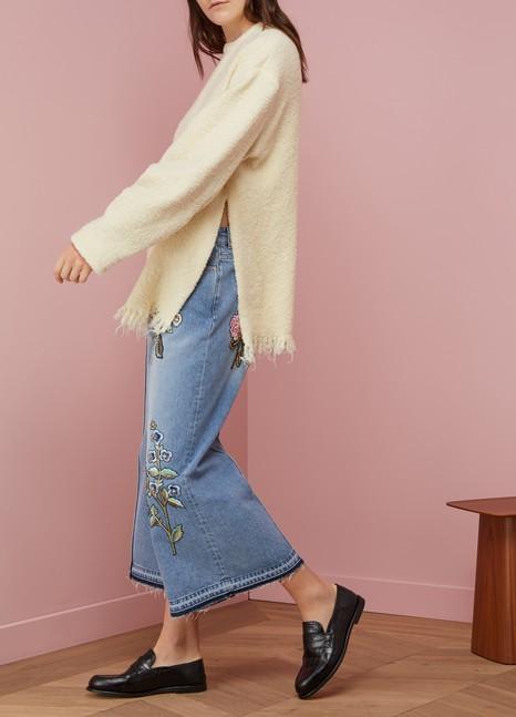 Victoria BeckhamPull à manches plissées