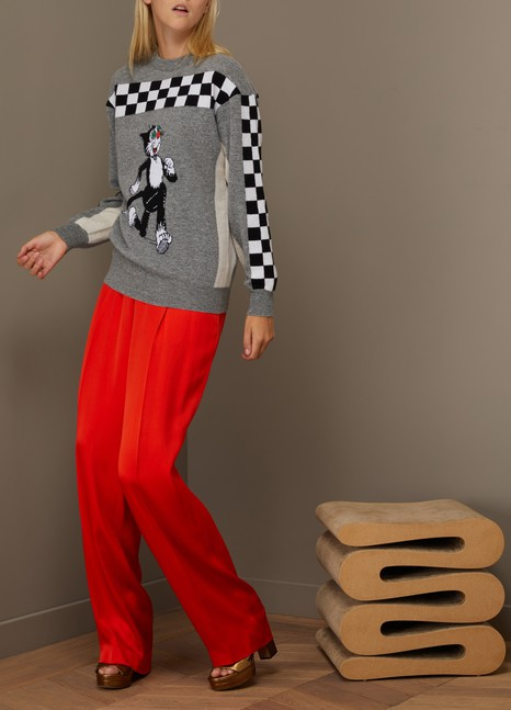 Stella McCartneyPull en laine Beano Intarsia