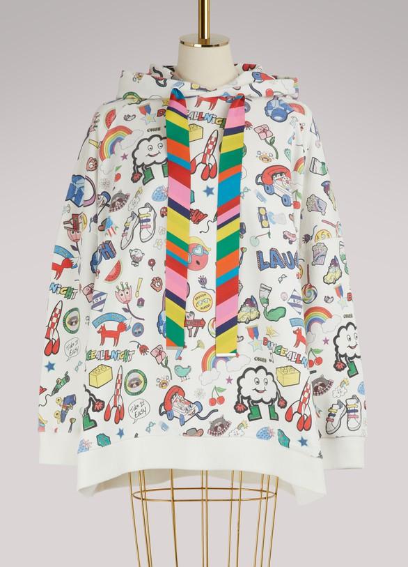 Mira MikatiCotton logo hoodie