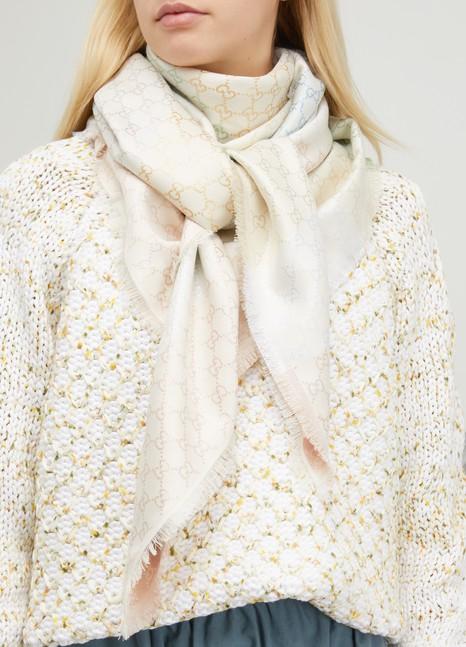 GucciWool blend scarf