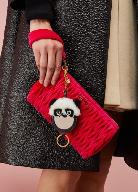 MIU MIUPorte-clé mirroir Panda