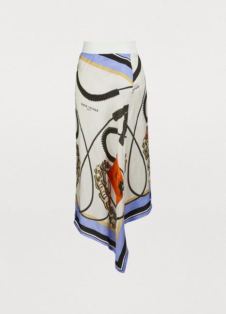 EACH OTHERPrinted skirt