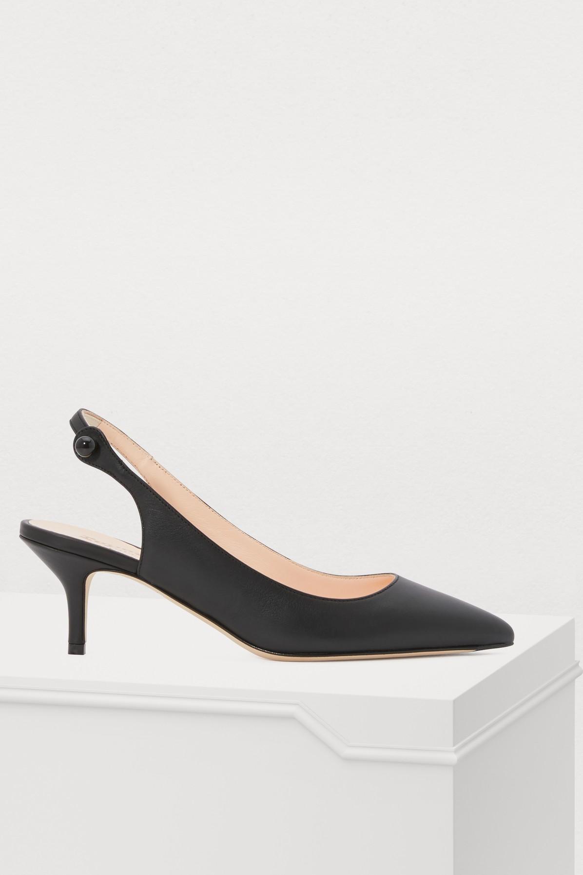 REPETTO | Lawrence heeled slingbacks | Goxip