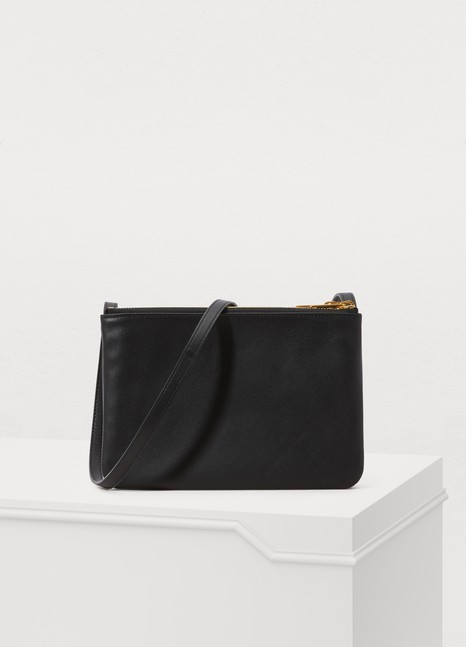 CELINE Small Trio bag in smooth lambskin