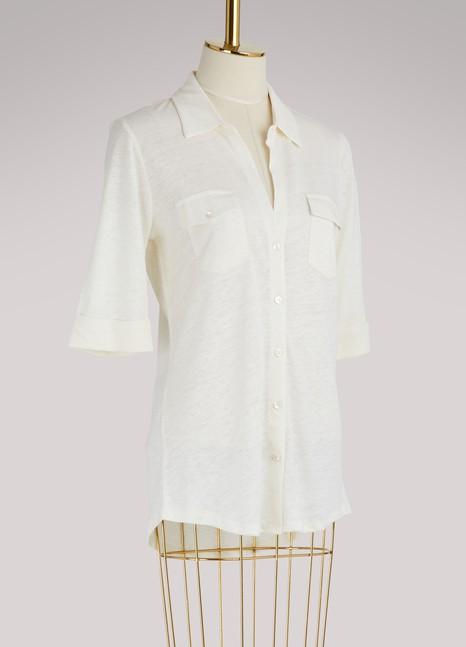 Majestic FilaturesLinen and silk shirt