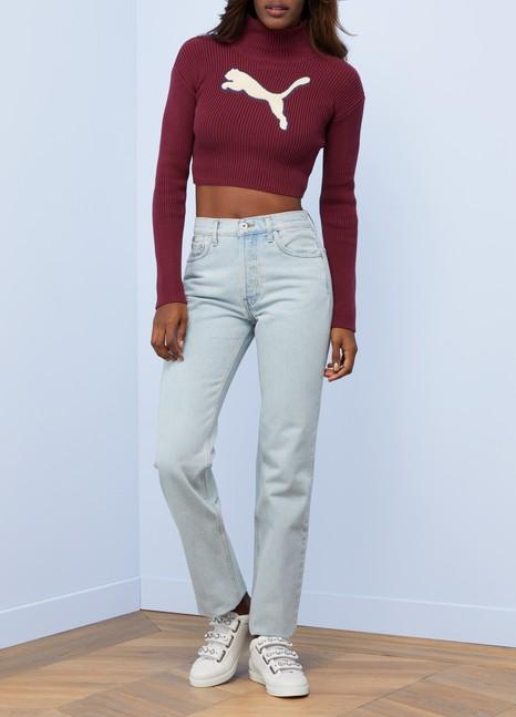 Fenty Puma by RihannaLong sleeve loose turtleneck sweater