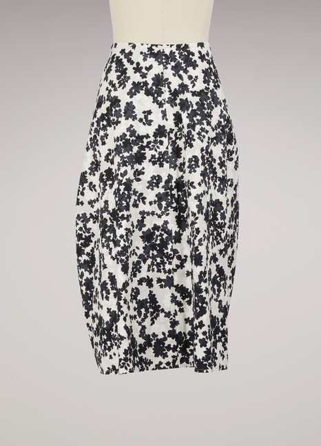 Jil SanderDryas Cotton Maxi Tulip Skirt