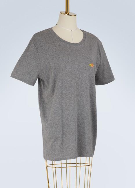 Le Bon MarchéT-shirt logo en coton