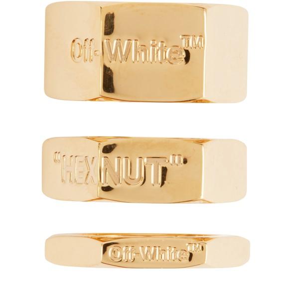 OFF-WHITENut rings