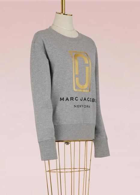 Marc JacobsCotton logo sweatshirt