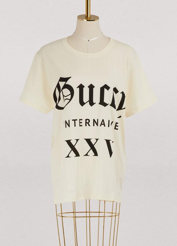 GucciGuccy Internaive XXV t-shirt