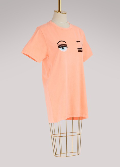 Chiara FerragniFlirting eye T-shirt