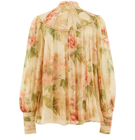 ZIMMERMANN Espionage silk blouse