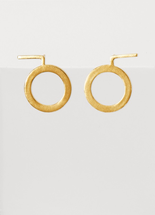 Monsieur Agatha small hoops