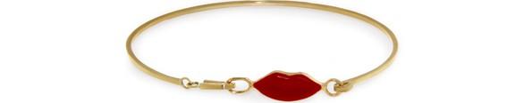 DELFINA DELETTREZGrandma Lips bracelet