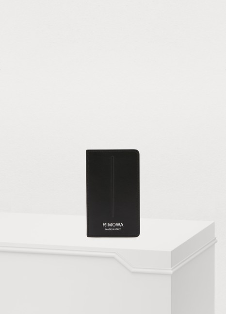 RIMOWALeather card case