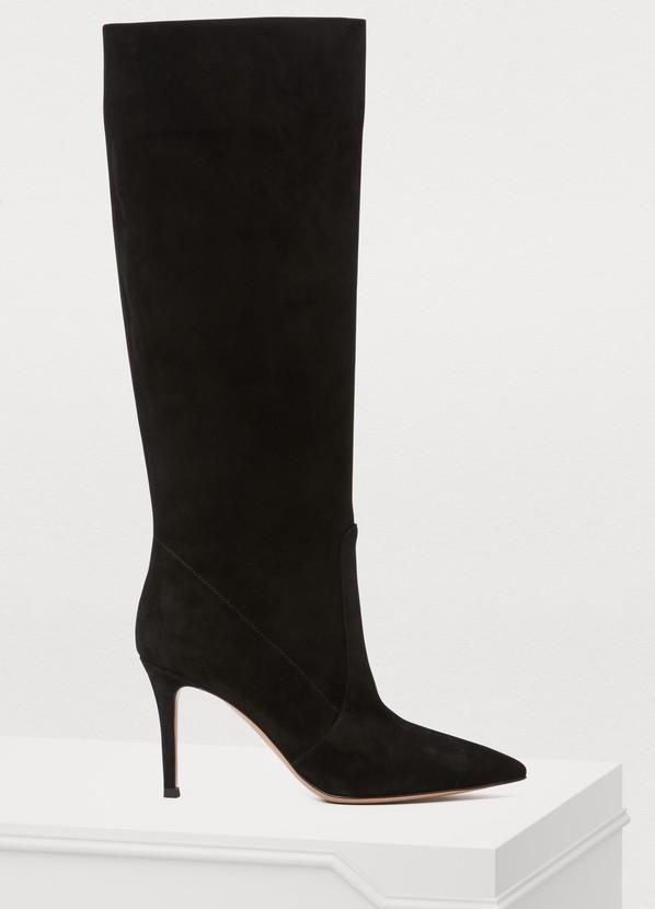 Hansen Boots in Black Nero