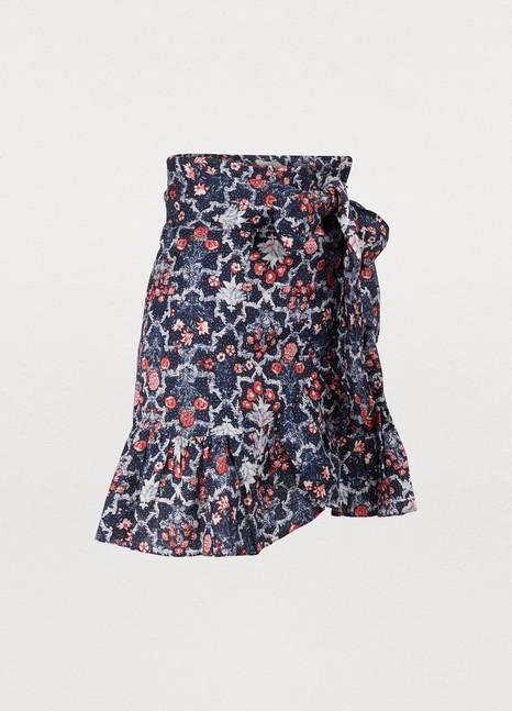 Isabel Marant EtoileTempster linen skirt