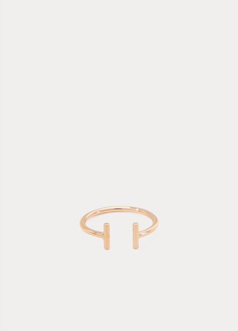 Ginette NY Gold Strip Open ring