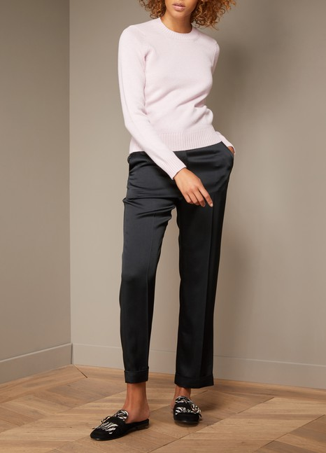 Haider Ackermann High-Waisted Silky Pants