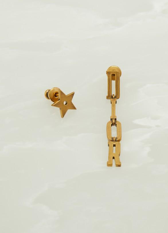 DiorBoucles d'oreilles asymétriques « Dio(r)evolution »
