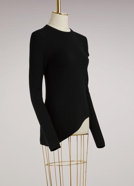 Proenza SchoulerAsymmetrical wool sweater