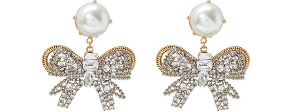 MIU MIUPearl earrings