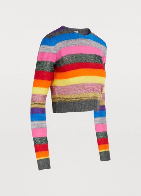 Miu MiuWool and mohair blend sweater