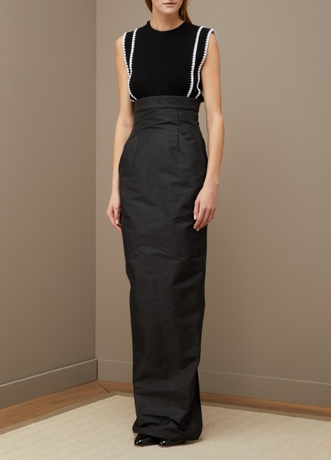 RICK OWENS Jupe taille haute
