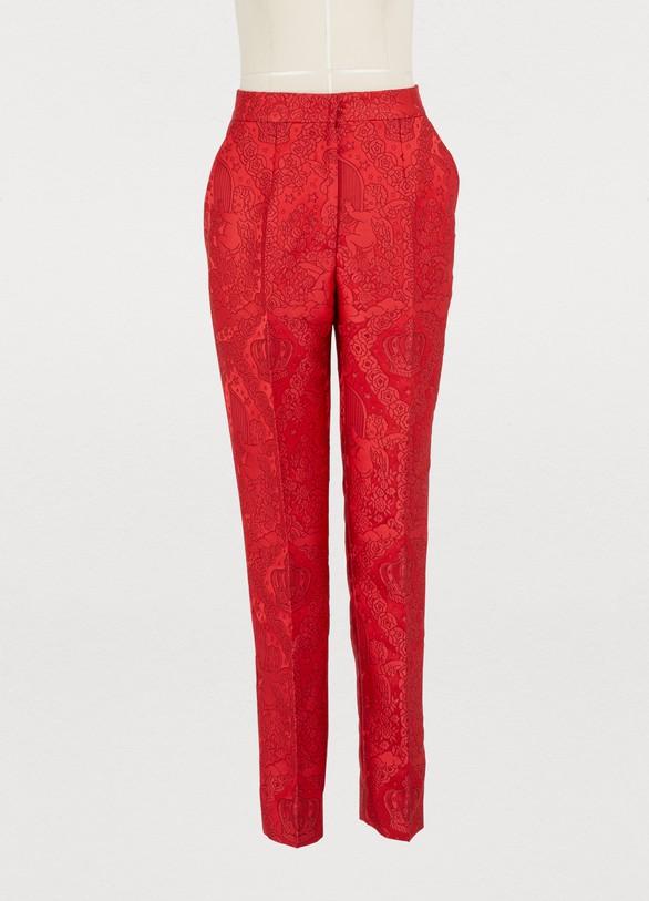 Dolce & GabbanaJacquard pants