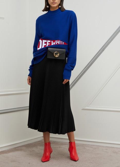 PRADAPleated midi-skirt