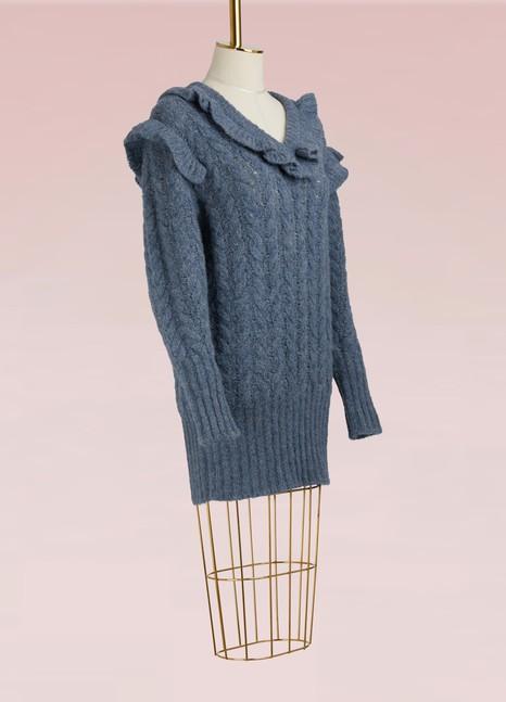 Miu MiuAlpaca Long Sweater