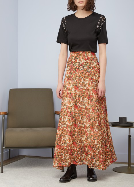 Isabel Marant Ferone silk skirt