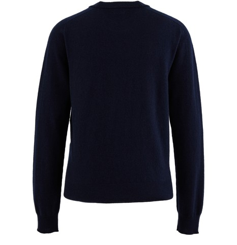 CELINEEmbroidered logo woollen sweatshirt