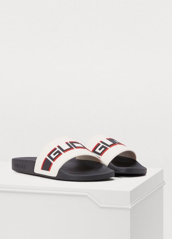 f4f37b2cfa43 ... Gucci Pursuit Gucci sport slippers ...