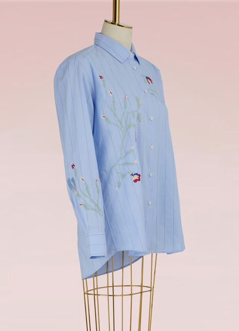 Paul & JoeEmbroidered Cotton Shirt