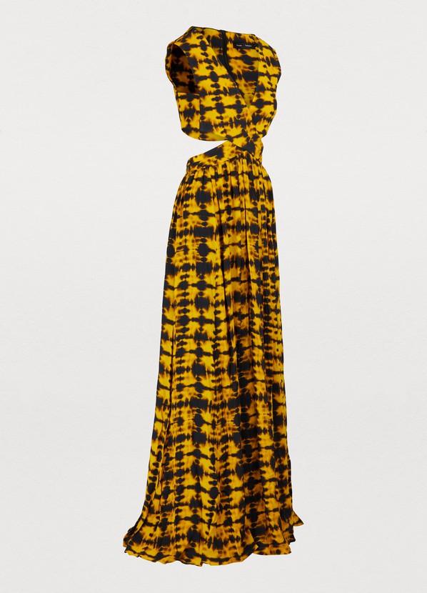 Imprimée Schouler 24 Sèvres Longue FemmeProenza Robe 5j3AqSc4RL